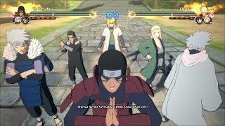 Every Hokage's Ultimate Jutsu   Naruto Shippuden Ultimate Ninja Storm 4