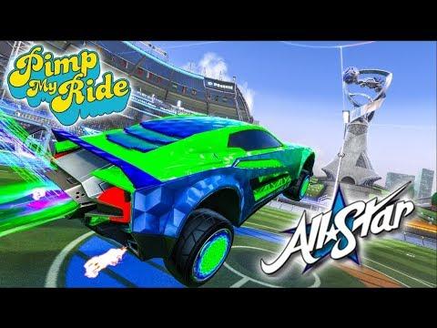 Pimp My Rocket League Ride - All Star Designs (2 Designers, 1 Car)