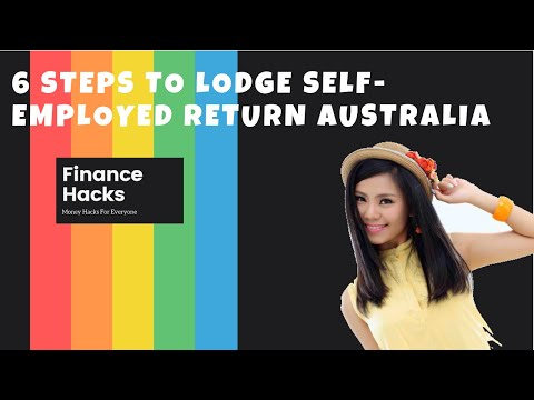 6 Steps To Lodge A Sole Trader Tax Return Australia MyGov 2019/20