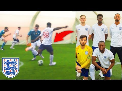 Kid Plays Football Match For England in World Cup & Scores Goal