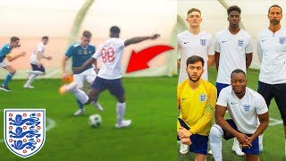 I Played a Football Match for ENGLAND & Scored (WORLD CUP)