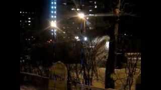 Уборка улицы 22 января 2014 Архангельск