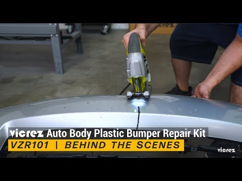 Vicrez Auto Body Plastic Bumper Repair Kit  |  Behind the Scenes