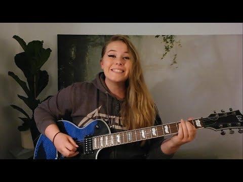 Moth Into Flame - Metallica guitar cover | Adunbee