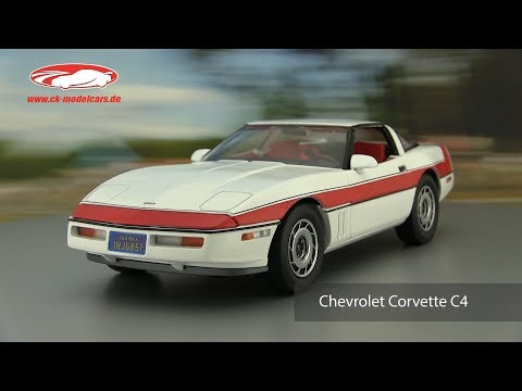 Ck-modelcars-video: Chevrolet Corvette C4 Baujahr 1984 TV-Serie Das A-Team 1983-87  Greenlight