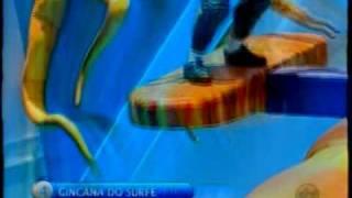 Gincana do Surfe no Programa Silvio Sant...