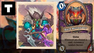 Hearthstone: Rumble Run | Warlock | Shrines - Dark Reliquary