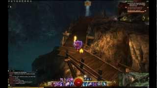 Guild Wars 2 Bandithaunt Caverns Vista Point (Queensdale)