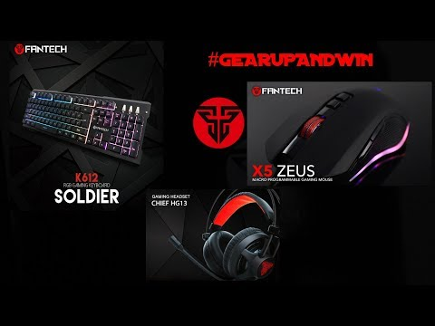 My Gaming Peripherals 2018  (Latest) FANTECH GEARS