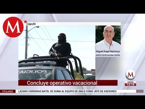 Concluye operativo vacacional: Capufe