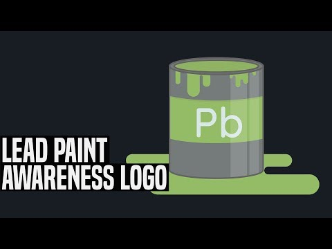 [Graphic Design] Lead Paint Awareness Logo - Style 2