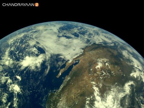 Watch: First visuals of Earth from ISRO's Chandrayaan 2 | Moon Mission