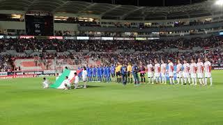 Himno Nacional (Necaxa v.s. Cruz Azul)