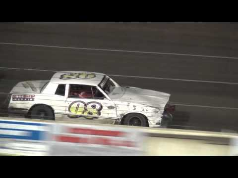 4th Annual Fall Extravaganza Night 2 / IMCA Hobby Stock feature Lee County Speedway 10/10/15