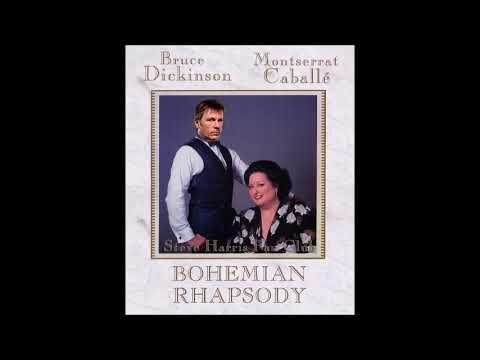 Montserrat Caballé and Bruce Dickinson -Bohemian Rhapsody