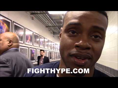 ERROL SPENCE JR. RESPONDS TO KEITH THURMAN'S TIMELINE; TELLS HIM FIGHT MUST HAPPEN IN 2018