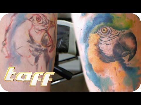 Coole Watercolour Tattoos | taff | ProSieben