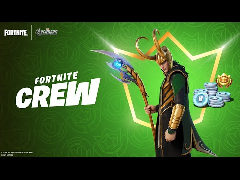 Loki, The God of Mischief, Tricks His Way into the July Fortnite Crew Pack