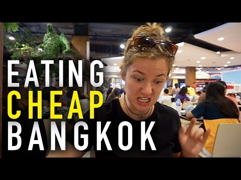 Eating For LESS Than $1 At Pier 21 | Bangkok, Thailand 🇹🇭