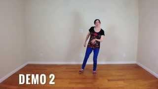 Lindy Hop Steps Made Easy: Scissor Kicks (solo jazz dance moves)