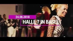Fashion: Models-Klick Party 2018 in der Halle 7 in Basel am 24.08.2018