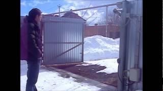 Автоматика для распашных ворот видео.wmv