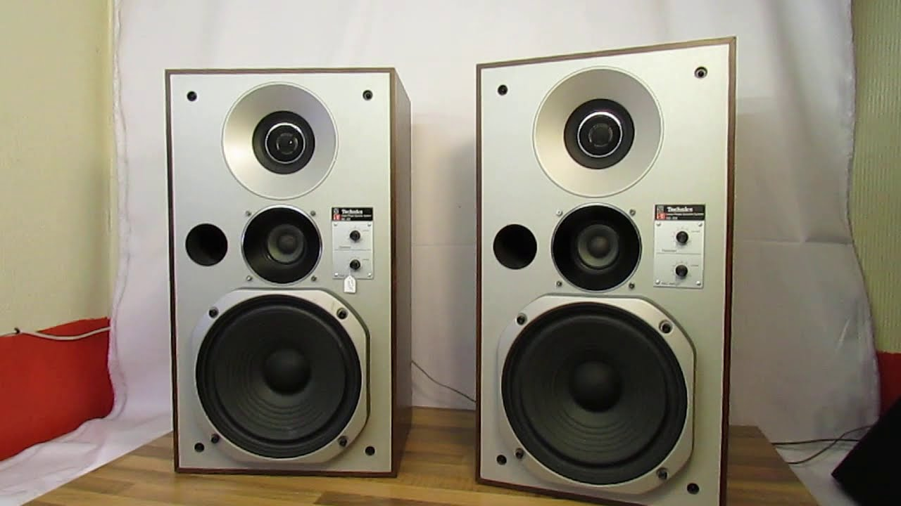 Vintage Technics Speakers Sb