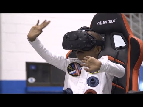 Thumbnail: Sick Boy's Wish to Visit Saturn in a Rocket Comes True With Virtual Reality