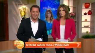 Sharni Takes Hollywood Bait