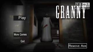 Granny(疯狂奶奶)恐怖游戏 horror game影片预告片 恐怖?准备尖叫声吧! 全字幕