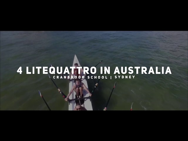 First 4 LiteQuattro in Australia - Perfect rowing boat for learning, touring & racing!