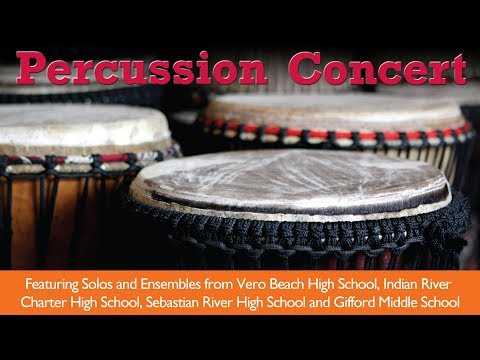 Percussion Concert at the Performing Arts Center
