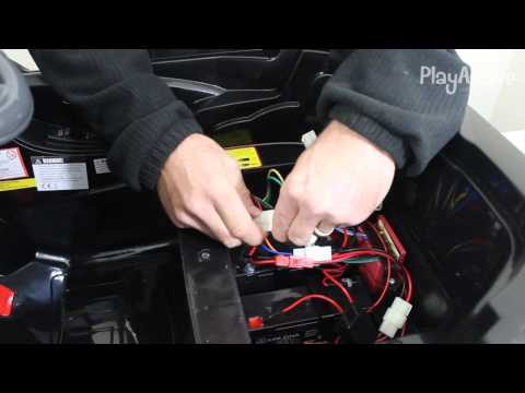 No power on remote control or foot pedal. PlayActive 12v Jeep.