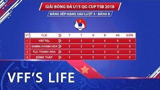 Kết quả lượt 3 bảng B VCK giải Bóng đá U15 Quốc gia - Cúp Thái Sơn Bắc 2018 | VFF Channel