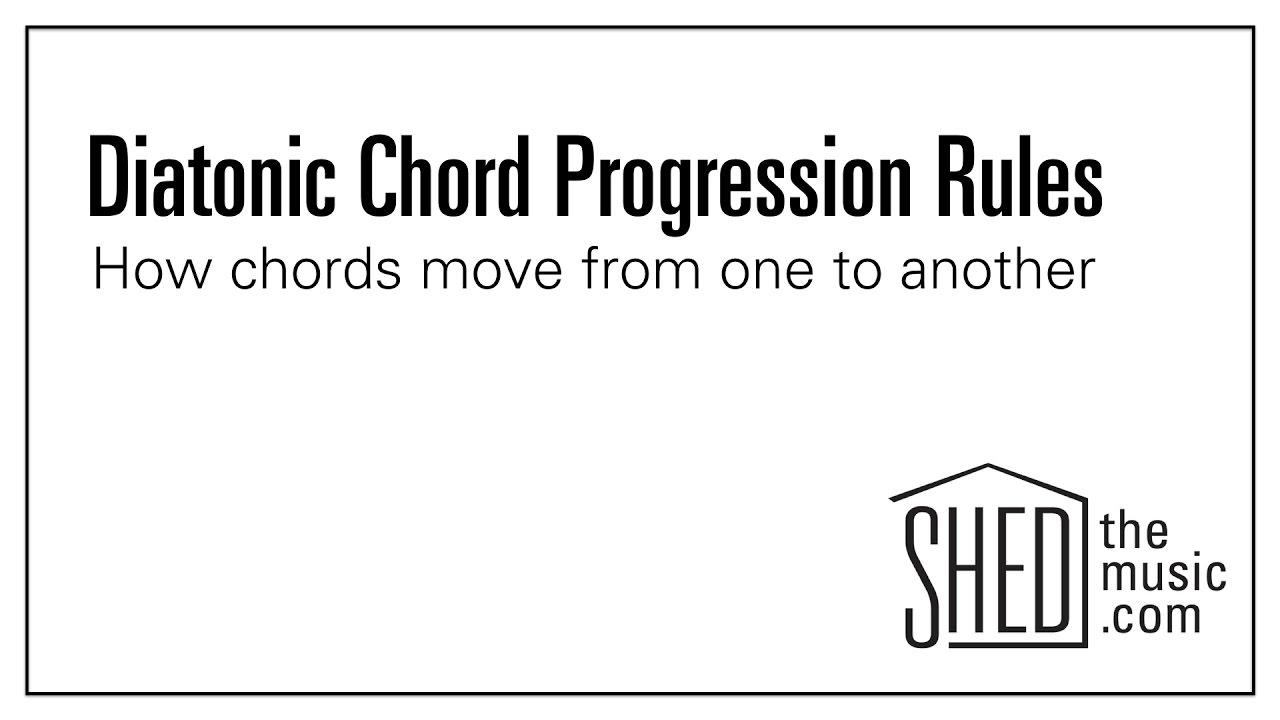 Diatonic chord progression rules youtube diatonic chord progression rules hexwebz Images