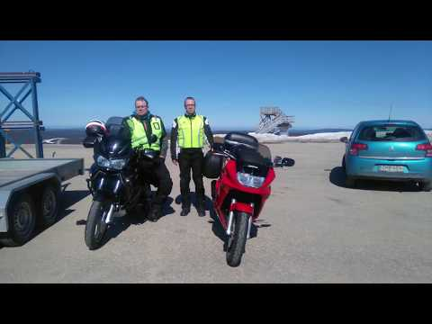 Motorcycle trip to Norway and the Arctic Ocean 2017