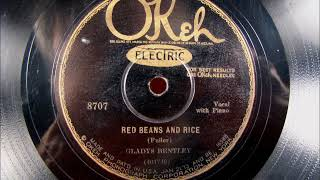 RED BEANS AND RICE Blues by Gladys Bentley from 1929