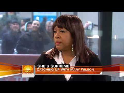 Mary Wilson - The Today Show - Interview