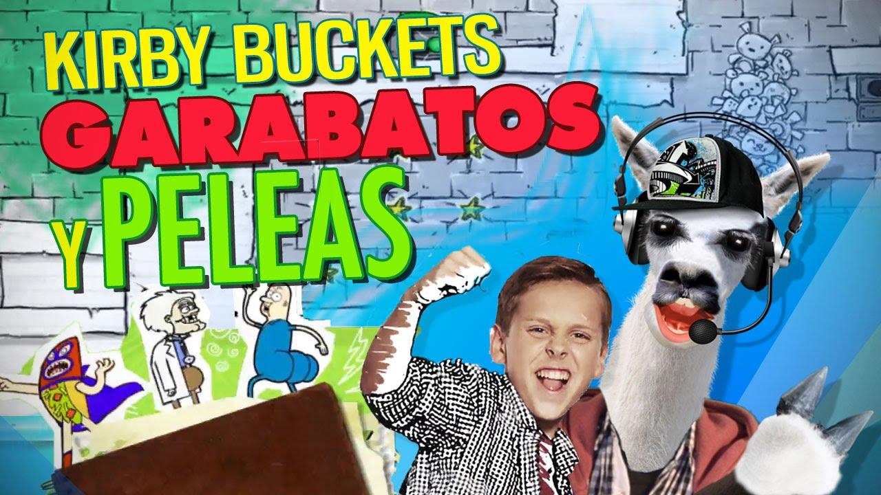 PlaySteve  Kirby Buckets Garabatos y Peleas  Tutorial de Juego