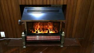 How to Replace the Light Bulbs in an Old Dimplex Electric Log Frieplace Heater