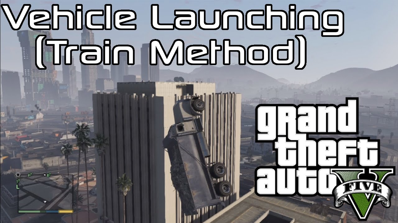 How to launch vehicles in GTA V - Critical Hit