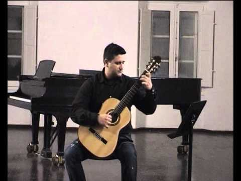Tiago Pargana plays Gigue BWV Bach 995