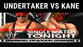 The Undertaker VS  Kane WWE raw 2002 pc gameplay by EasyGameWalkthrough