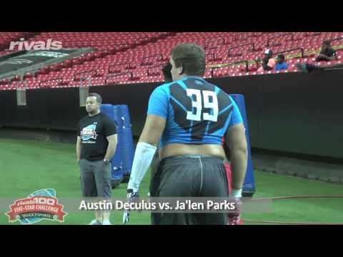 5-Star Challenge: OL vs. DL (Big Man Finals)