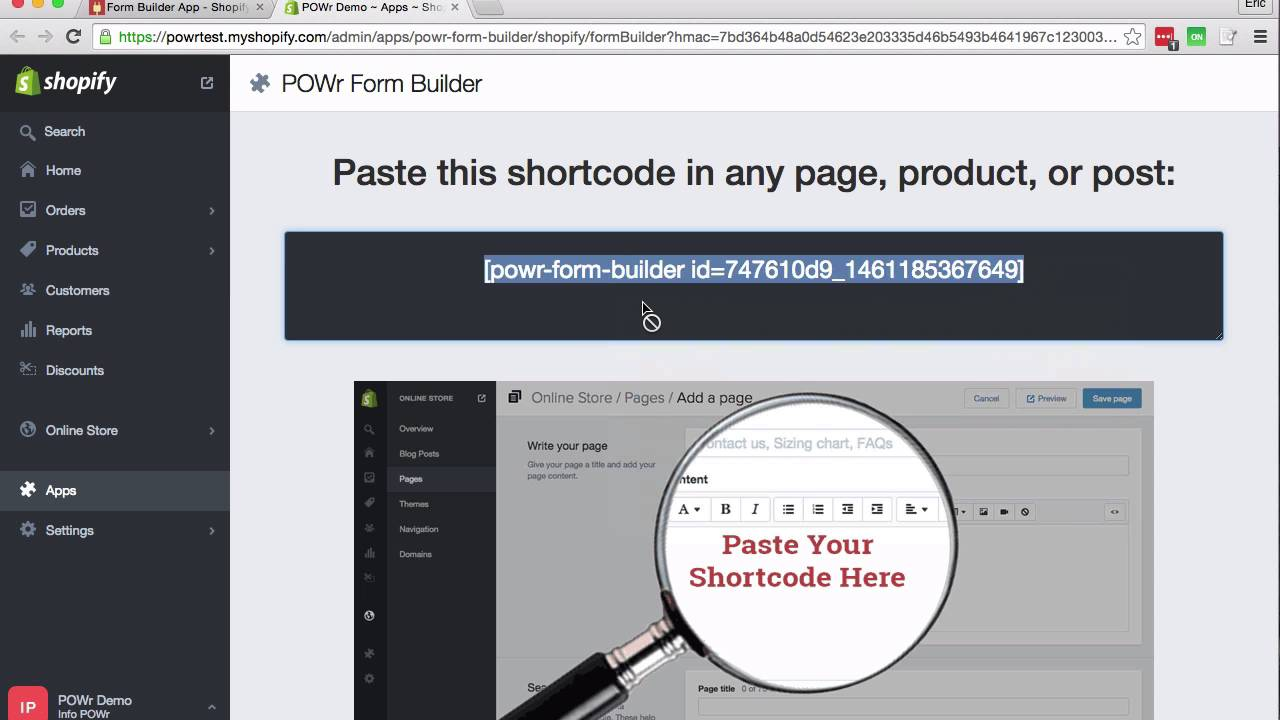 How to add POWr Plugins to your Shopify store - YouTube