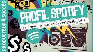 Comment personnaliser sa page d'artiste sur Spotify ?