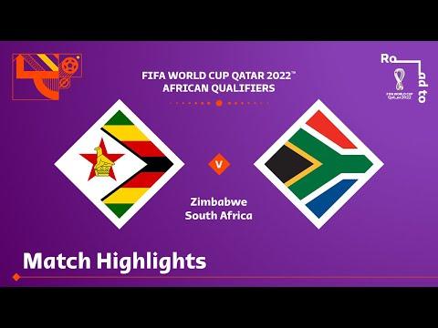 Zimbabwe v South Africa | FIFA World Cup Qatar 2022 Qualifier | Match Highlights