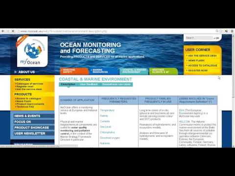 Copernicus User Uptake - Marine Environment Monitoring Service Webinar