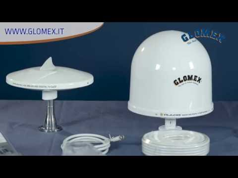 Les antennes TV marine Glomex pour bateaux