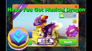 Have You Got Musical Dragon-Dragon Mania legends | Dragon Dice Event | DML